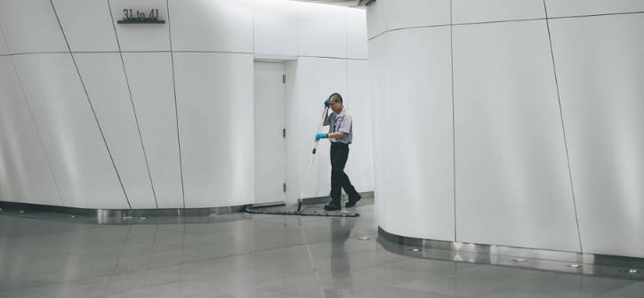 Kompleksowe sprzątanie biura